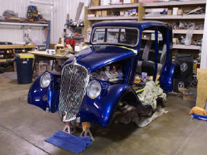 1933 Willys Project for Sale http://www.streetrodsonly.com/id29.html
